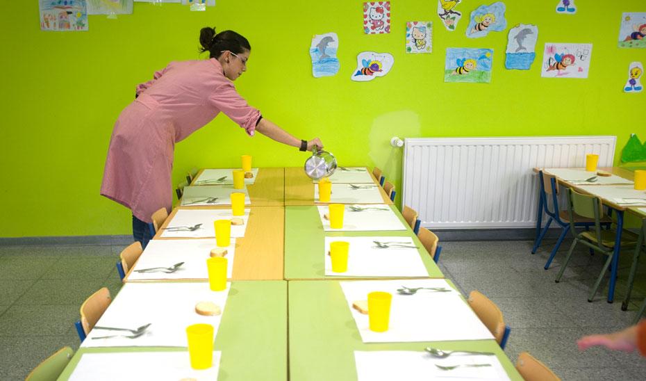 Alumnos se beneficiar n del servicio de comedor en for Comedor escolar proyecto